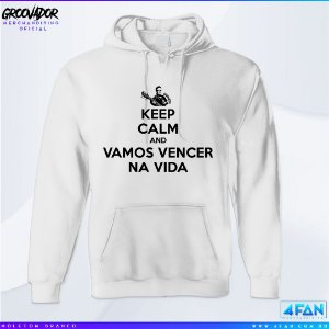 Moletom - Junior Groovador - Keep Calm and Vamos Vencer na Vida
