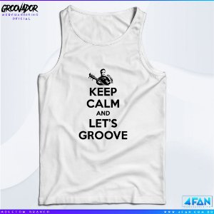 Camiseta Regata - Junior Groovador - Keep Calm and Let's Groove