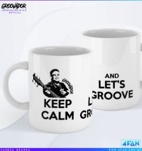 Caneca - Junior Groovador - Keep Calm and Let's Groove