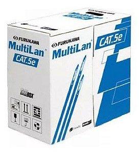 CABO TRANSMISSAO DE DADOS MULTILAN U/UTP 24AWGX4P CAT.5E CM ROHS - (CAIXA 305M)