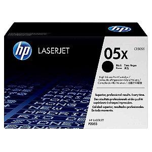 TONER HP CE505X 05X | P2055 P2055N P2055DN P2055X | ALTO RENDIMENTO |ORIGINAL 6.5K