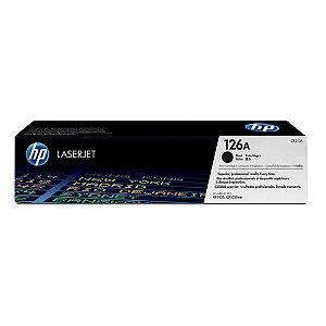 TONER HP CE310A CE310AB 126A | PRETO/BLACK | CP1025 | CP1025NW | CP1020 | CP1020NW | M175A | ORIGINAL 1.2K