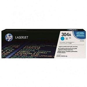 TONER HP CC531A 304A AZUL/CIANO | CP2025DN CM2320N CM2320NF | ORIGINAL 2.8K