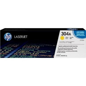 TONER HP CC532A 304A AMARELO/YELLOW| CP2025DN CM 2320N CM2320NF | ORIGINAL 2.8K