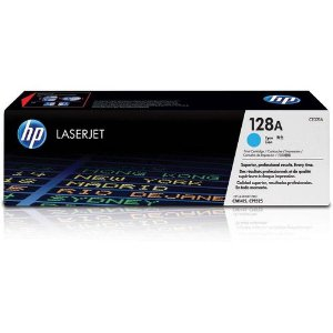 TONER HP CE321A CE321AB 128A AZUL/CIANO | CM1415FN CM1415FNW CP1525NW | ORIGINAL 1.3K