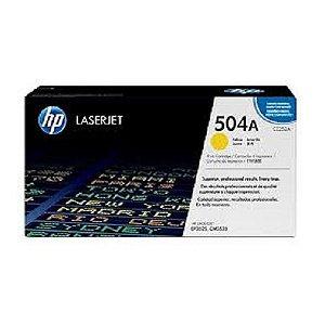 TONER  HP CE252A 504A AMARELO/YELLOW | CP3525 CM3530 CP3525DN CP3525N CP3525X CM3530FS |ORIGINAL 7k