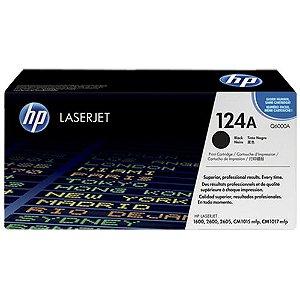 TONER HP Q6000A Q6000AB PRETO/BLACK 124A | 2600 1600 2600N 2600DTN CM1015 MFP CM1017 MFP | ORIGINAL 2.5K
