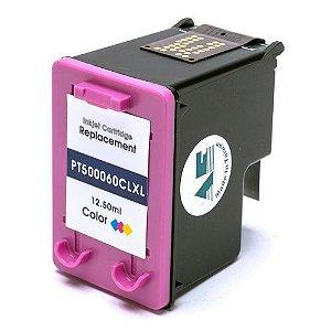 CARTUCHO DE TINTA COMPATÍVEL COM HP 60XL 60 COLOR CC644WB   F4480 F4580 F4280 D1660 C4780 C4680 12,5ML