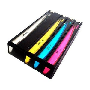 Kit 4 Cartuchos 970xl 971xl Hp X451 X476 X476 X551 X576 Compativel Cmyk
