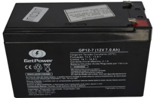 Bateria VRLA 12V 7Ah para Pulverizadores Potenciômetro e Hidráulico Jetbras