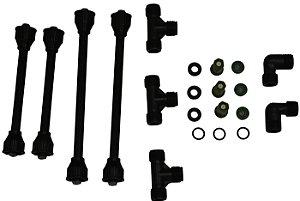 Kit para montagem de Barras de Pulverização com Bico Cone