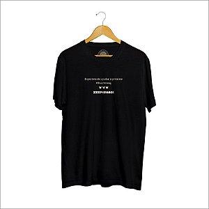 Camiseta XXXPERIENCE Social - Preta