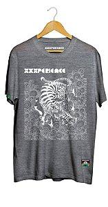Camiseta XXXPERIENCE Panther - Mescla Preta
