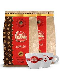 Combo Cajubá Blend Essencial + Xícaras