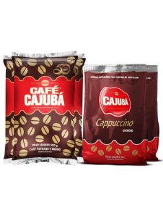 Combo Cajubá Tradicional + Cappuccino Cremoso