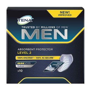 ABSORVENTE TENA FOR MEN LEVEL 2 C/10 UNIDADES