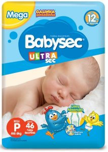 FRALDA INFANTIL BABYSEC ULTRA
