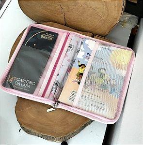 Porta Documentos com Zíper