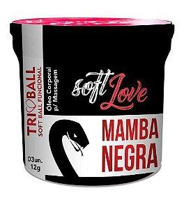 Mamba Negra Soft Ball - Excita, Esquenta, Esfria e Vibra.