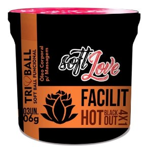 Facilit Hot Blackout 4x1 Soft Ball Funcional