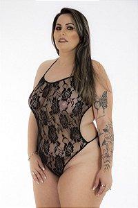 Body em Renda Plus Size