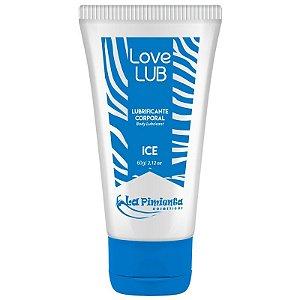 Love Lub Ice Lubrificante Corporal 60g - Esfria