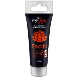 Facilit Hot Blackout 4x1 - Dessensibilizante Anal Bisnaga 15ml