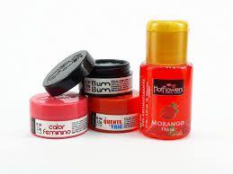 Kit com 4 produtos Sedução Morango