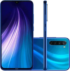 Redmi Note 8 4GB RAM 128 GB ROM - azul