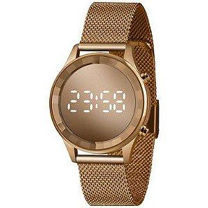 Relógio Lince Digital Feminino Rose