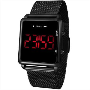 Relógio Lince Digital Preto