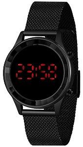 Relógio Lince Digital Feminino Preto