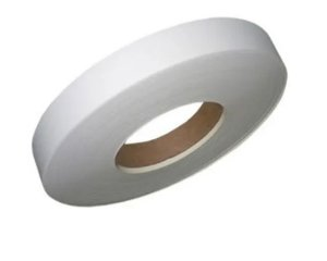 Fita Borda branca Lisa PVC Rehau esp 0,45mm