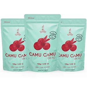 Camu Camu em Pó 100g - LEVE 3 E PAGUE 2!!
