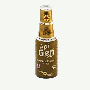 Apigen Spray - Gengibre, Própolis e Mel 30ml