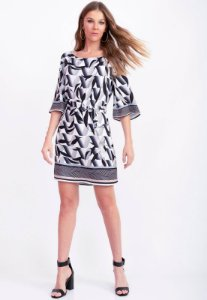 Vestido Estampado Breeze Bana Bana