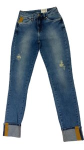 Calça Jeans Skinny Double Cut Patogê