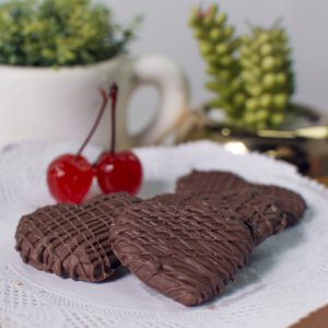 Bolacha de especiarias com chocolate (100g)