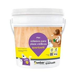 Adesivo para Pisos Vinílicos balde com 4kg - Quartzolit