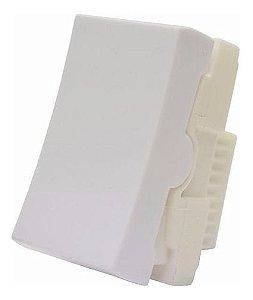 Modulo interruptor simples 10A slim - ilumi