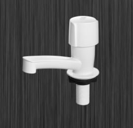 Torneira de lavatório facilita branca - herc