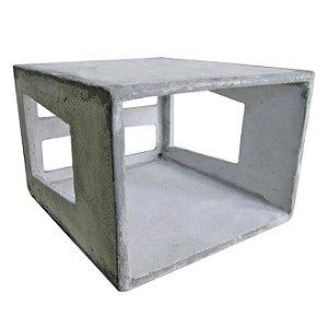 Caixa de Concreto para ar-condicionado de 7.000 á 9.000BTus - LP