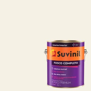 Tinta Acrilica Fosco Completo Sourbet de Baunilha galão com 3,2 litros - Suvinil