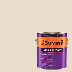 Tinta Acrilica Fosco Completo Creme de Amendoim galão com 3,2 litros - Suvinil