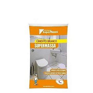 Cimento branco Composto com 1kg - Supermassa