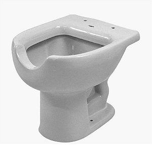 Vaso sanitário pne para deficientes lisboa branco - luzarte
