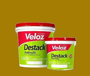 Tinta acrilico Amarelo Frevo Destack Galão com  3,6 Litros Interior - Veloz