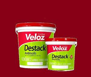 Tinta Acrílica Vermelho Rubi Destack Galão com 3,6 litros - Veloz
