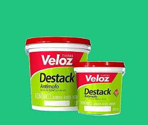Tinta acrilico Verde Aruana Destack Galão com  3,6 Litros Interior - Veloz