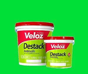 Tinta acrilico Verde Angra Destack Galão com  3,6 Litros Interior - Veloz
